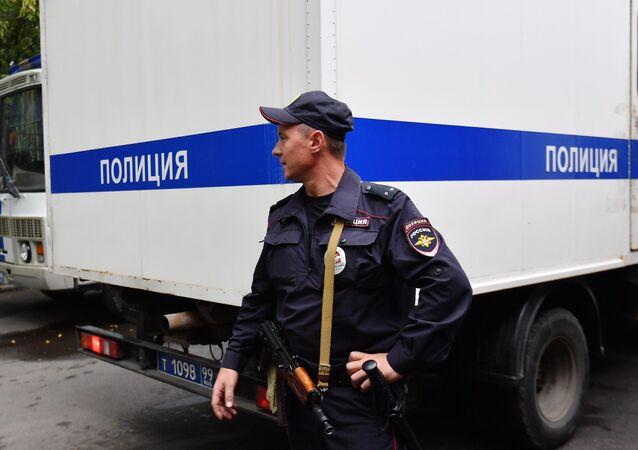 Un policía ruso (archivo)