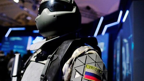 Exoesqueleto (imagen referencial) - Sputnik Mundo