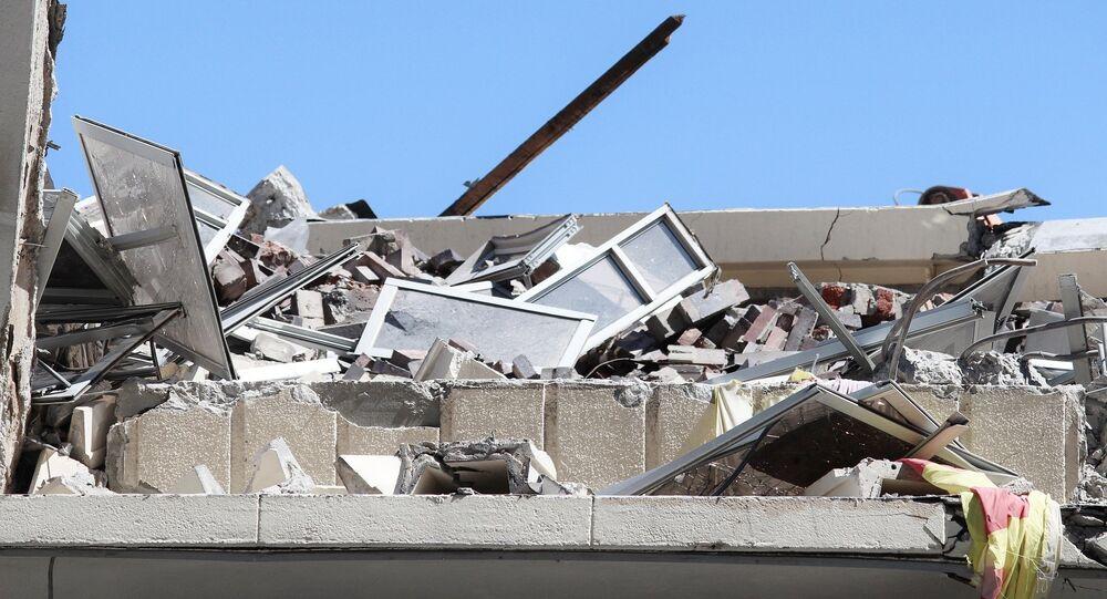 Demolición de una casa (imagen referencial)
