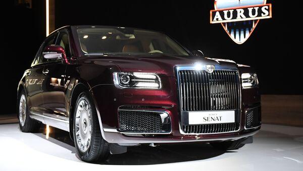 Todos los detalles del estreno del auto presidencial ruso Aurus Senat - Sputnik Mundo