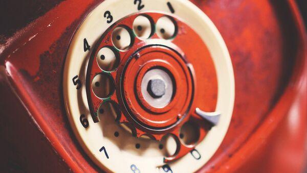 Un teléfono rojo - Sputnik Mundo