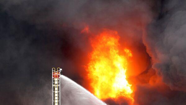 Incendio en Melbourne - Sputnik Mundo