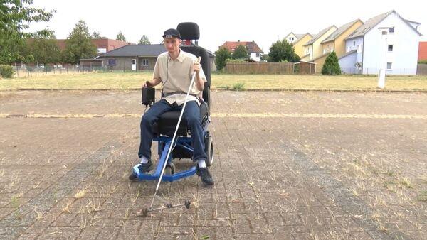 Un inventor con discapacidad visual crea un vehículo para ciegos - Sputnik Mundo