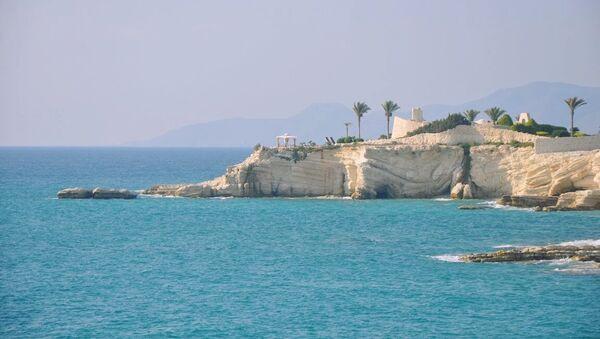Vista del palacio de la familia presidencial, cerca de Latakia. - Sputnik Mundo