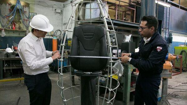 Taller de producción de la cápsula antisísmica K107 en México - Sputnik Mundo