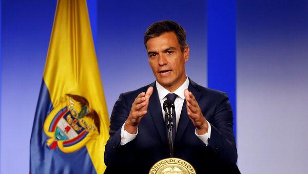 Pedro Sánchez, jefe del Gobierno de España - Sputnik Mundo
