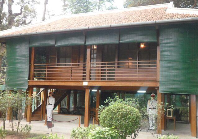 La Casa Zancuda donde vivió Ho Chi Minh como presidente de la entonces República Democrática de Vietnam