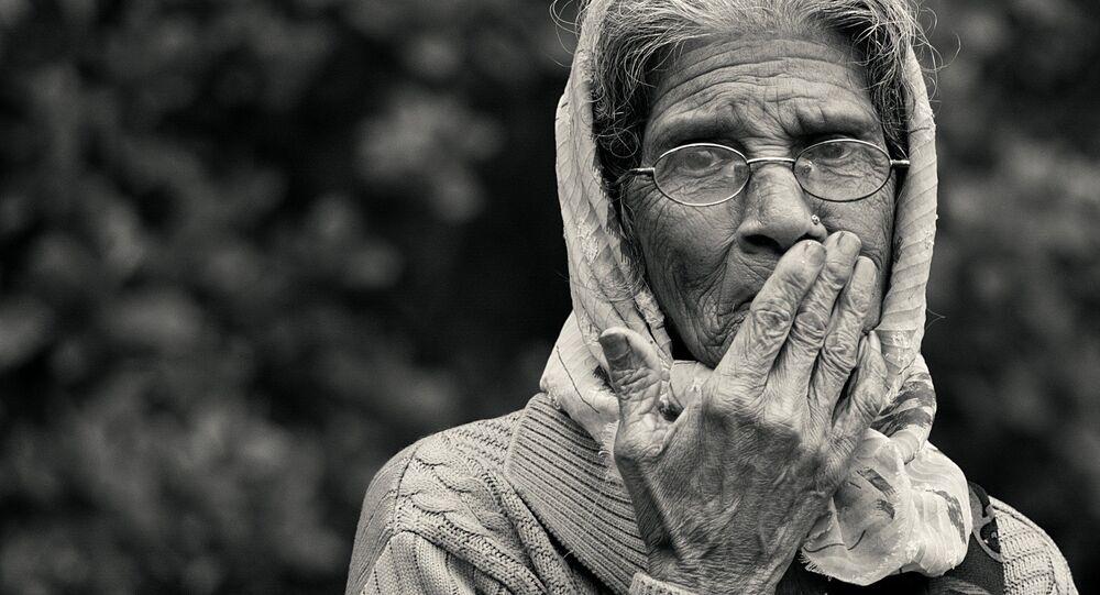 Una anciana (imagen referencial)