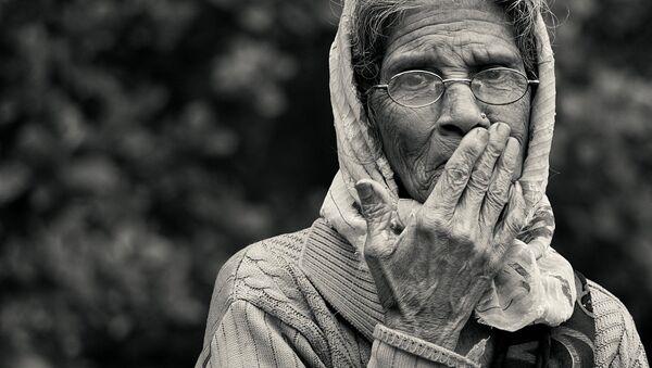 Una anciana (imagen referencial) - Sputnik Mundo