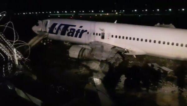 Incendio de un Boeing 737 en Rusia - Sputnik Mundo