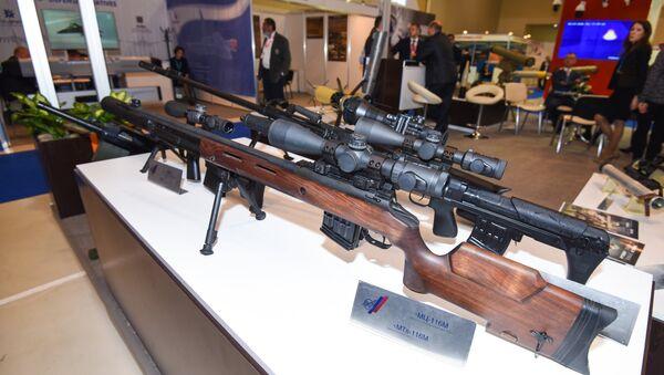 Midelo de fusil francotirador MTs-116M (archivo) - Sputnik Mundo