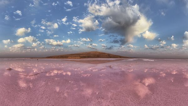 El lago rosado Koyashskoye en Rusia - Sputnik Mundo