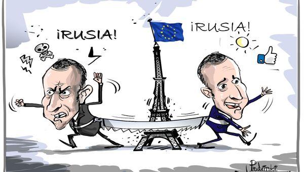 Macron, el contradictorio - Sputnik Mundo