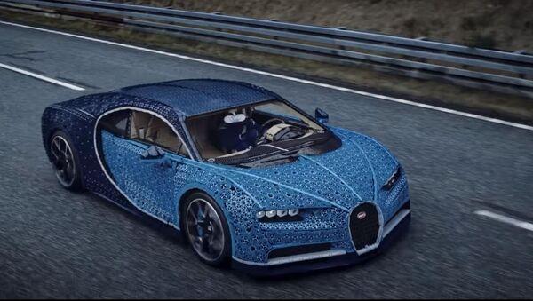 Bugatti de Lego - Sputnik Mundo