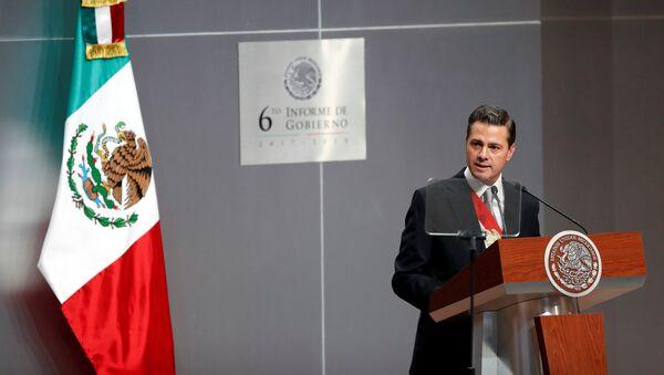 Enrique Peña Nieto, presidente saliente de México (archivo) - Sputnik Mundo