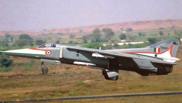 Un avión de combate MiG-27 de la Fuerza Aérea india - Sputnik Mundo