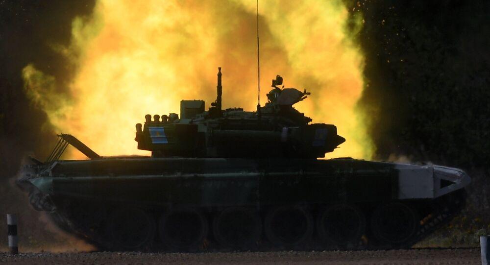 Un T-72 (archivo)