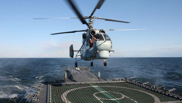 Helicóptero Ka-27 PL despega del buque Yaroslav Mudri - Sputnik Mundo