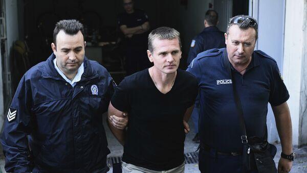 Alexandr Vínnik, informático ruso arrestado en Grecia (archivo) - Sputnik Mundo