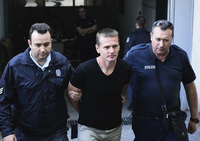 Alexandr Vínnik, informático ruso arrestado en Grecia (archivo)