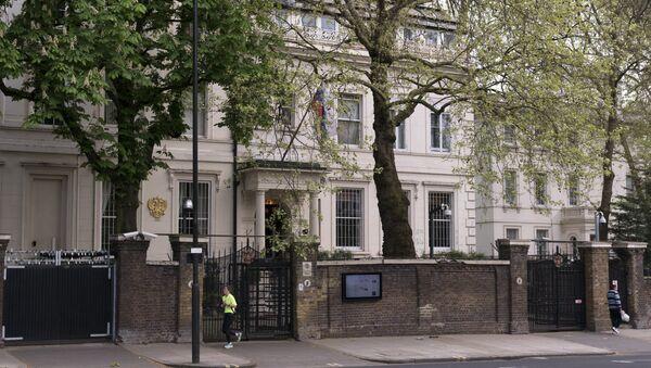 La embajada de Rusia en Londres, Reino Unido (imagen referencial) - Sputnik Mundo