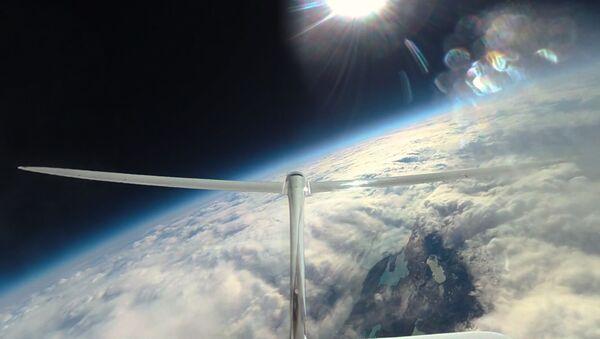 La aeronave Perlan 2 (archivo) - Sputnik Mundo