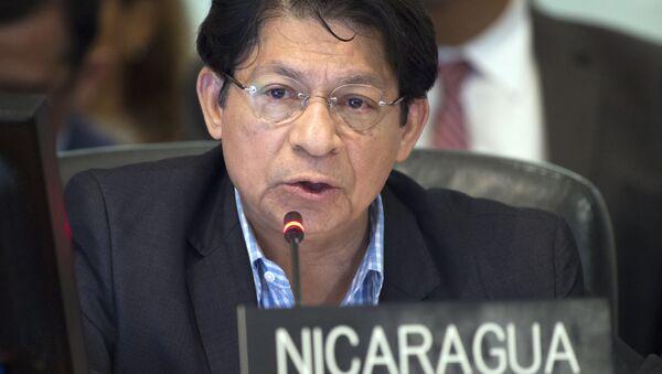 Denis Moncada, canciller de Nicaragua - Sputnik Mundo