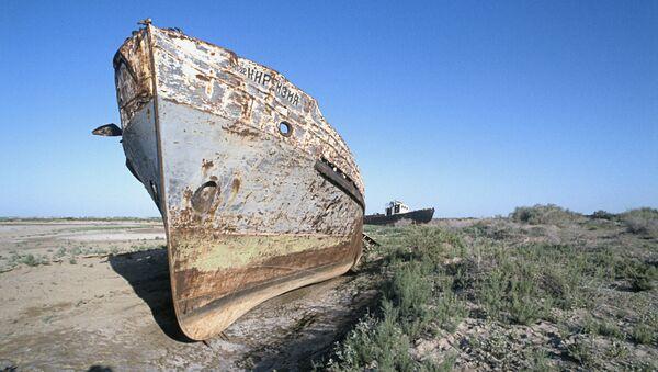 El desierto de Aral en 1994 - Sputnik Mundo