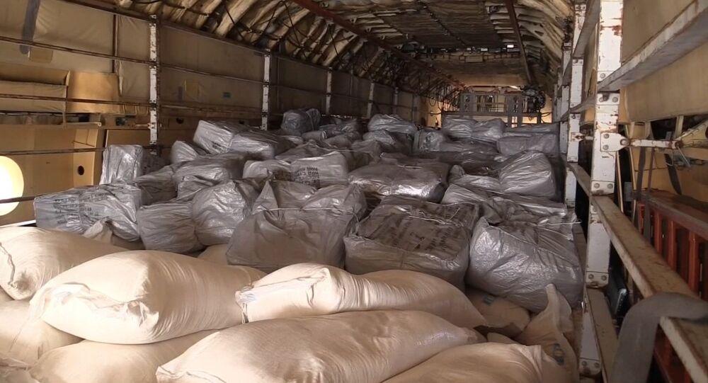 Ayuda humanitaria rusa llega a Siria (archivo)