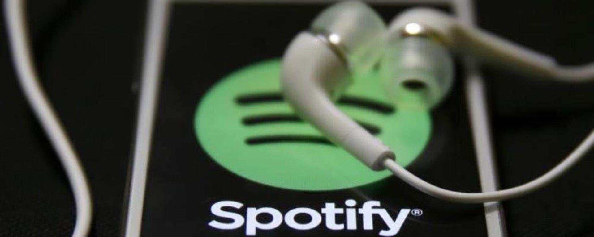 Spotify (imagen referencial) - Sputnik Mundo, 1920, 07.05.2021