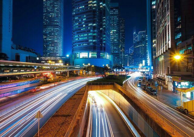 Luces de una ciudad