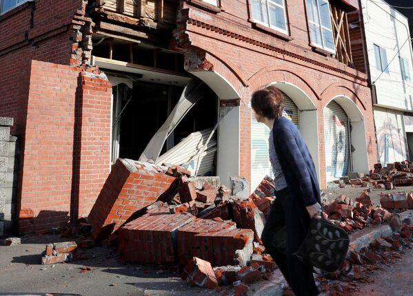 El devastador terremoto que ha puesto a prueba a Japón - Sputnik Mundo