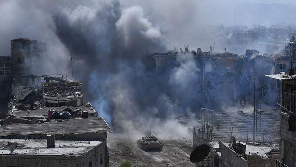 Combates en Siria - Sputnik Mundo