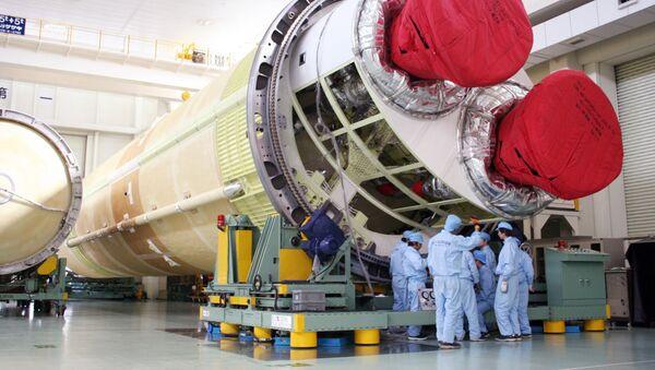 El cohete H-2B en Japón - Sputnik Mundo