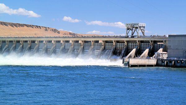 Una central hidroeléctrica (imagen referencial) - Sputnik Mundo