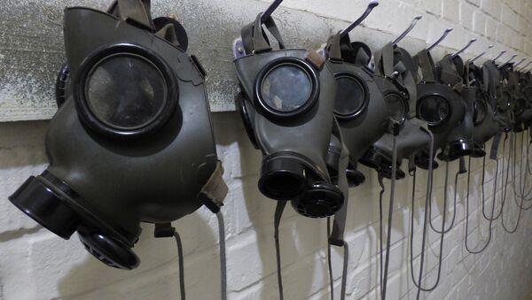 Máscaras de gas - Sputnik Mundo