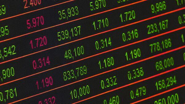 Bolsa de valores - Sputnik Mundo