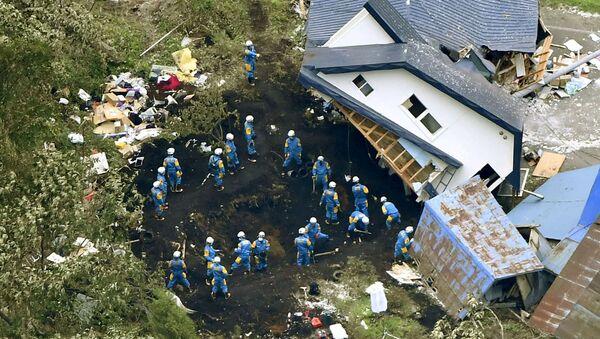 Terremoto en Hokkaido - Sputnik Mundo