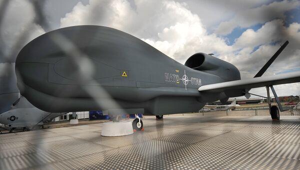 Aparato no tripulado RQ-4 Global Hawk (archivo) - Sputnik Mundo
