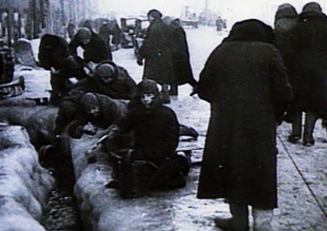 El bloqueo más sangriento en la historia de la humanidad en unas imágenes de archivo