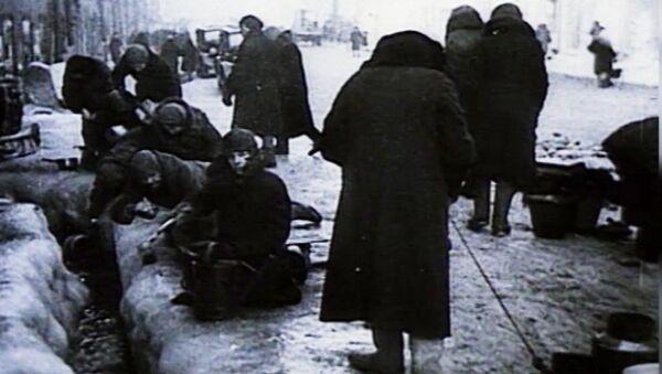El bloqueo más sangriento en la historia de la humanidad en unas imágenes de archivo - Sputnik Mundo