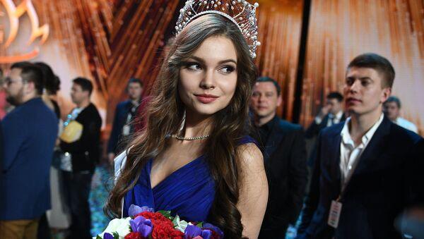 Miss Rusia 2018, Yulia Poliachíjina - Sputnik Mundo