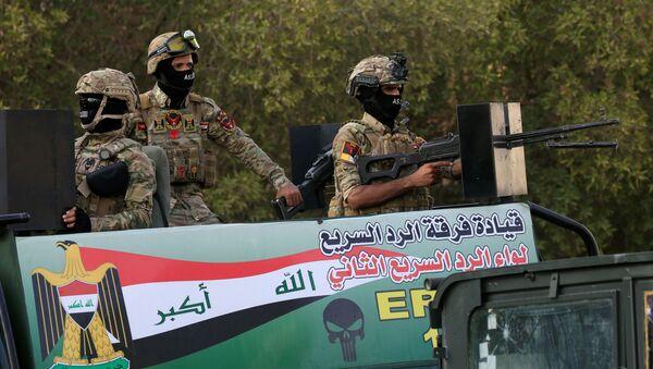 Los militares iraquíes en Basora - Sputnik Mundo