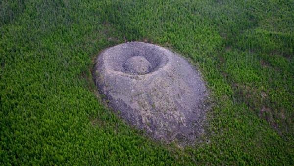 El cráter Patom - Sputnik Mundo