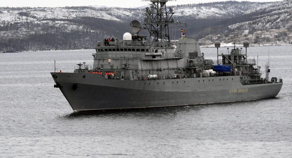 Buque espía ruso Yuri Ivanov