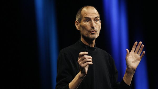 Steve Jobs, fundador de Apple - Sputnik Mundo