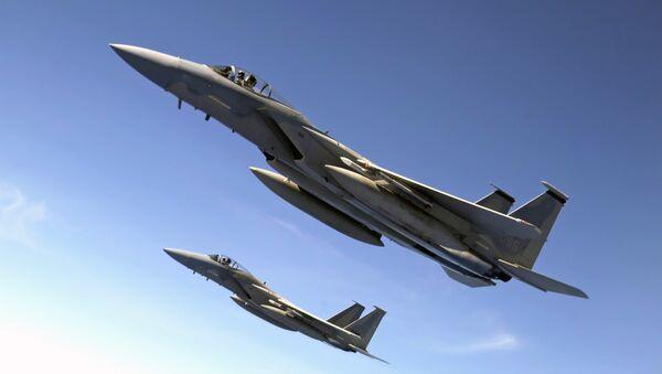 Caza F-15 (imagen referencial) - Sputnik Mundo
