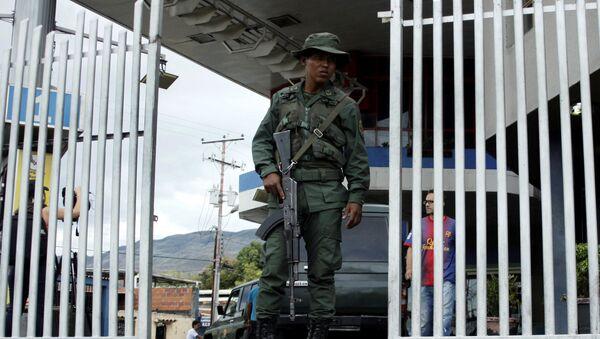 Un militar venezolano (archivo) - Sputnik Mundo