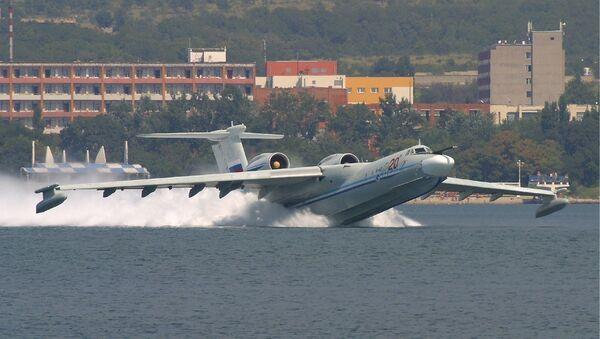 Avión anfibio ruso A-40 - Sputnik Mundo