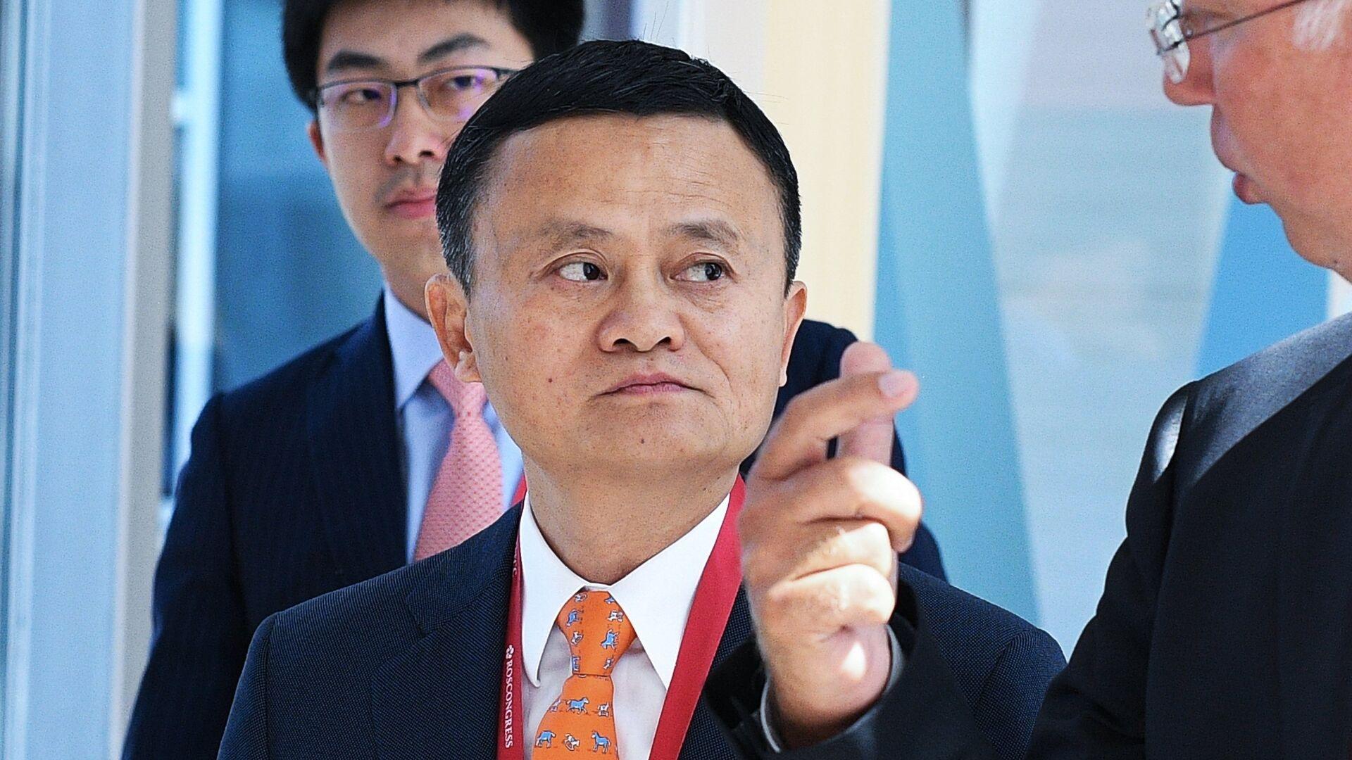 Jack Ma, fundador de Alibaba - Sputnik Mundo, 1920, 25.12.2020